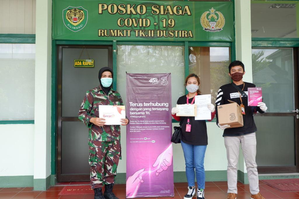 Bantuan 3 Indonesia ke RS Dustira