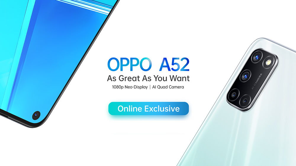Spesifikasi OPPO A52
