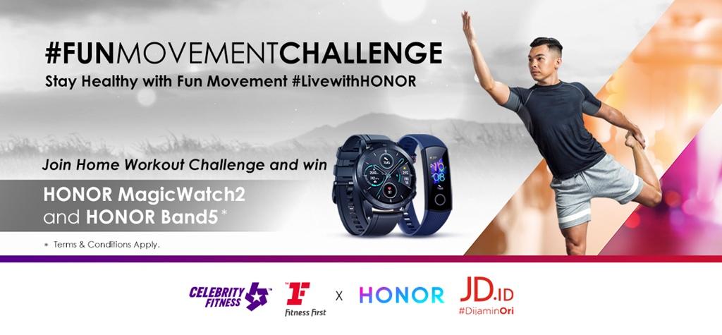 HONOR Fun Movement Challenge