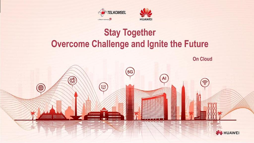 Huawei Telkomsel Cloud Summit