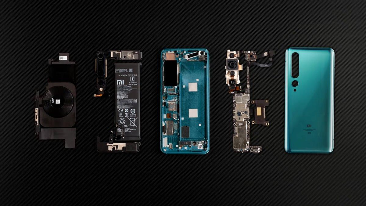 Xiaomi Mi 10 teardown