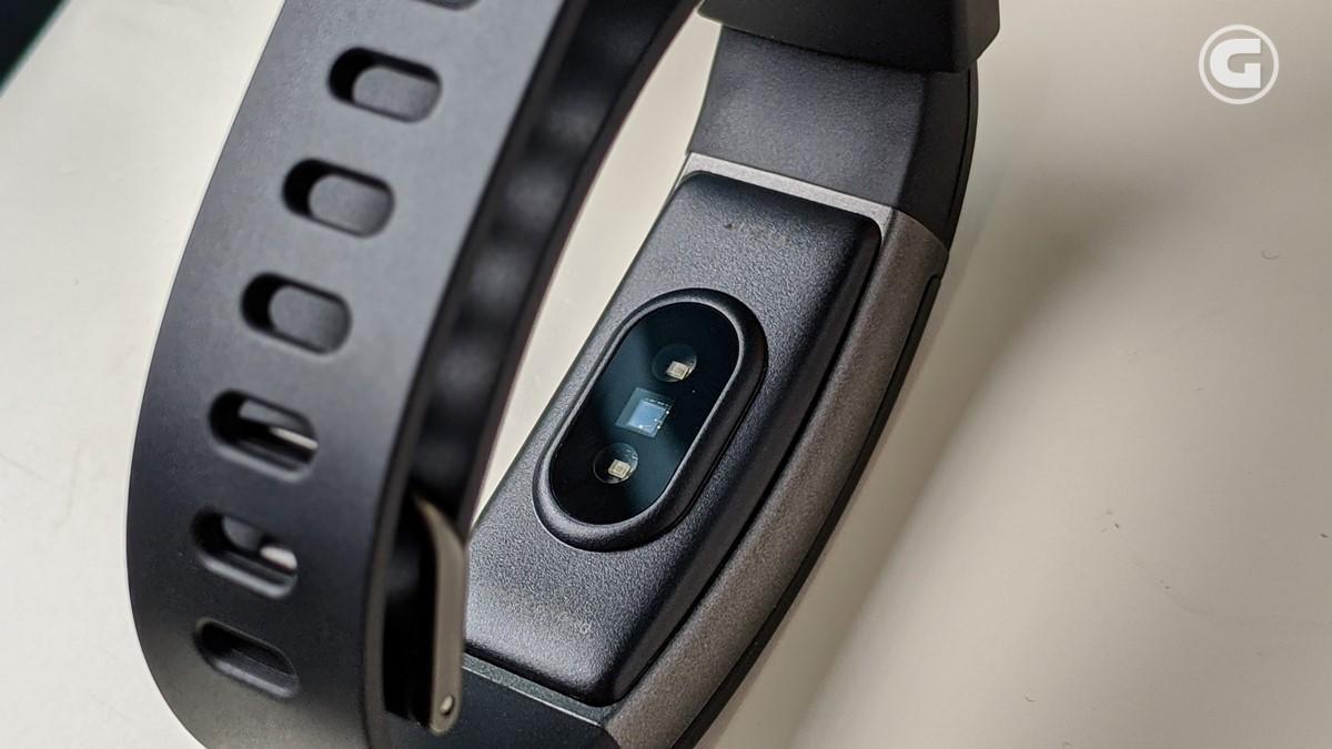 heart rate sensor realme Band
