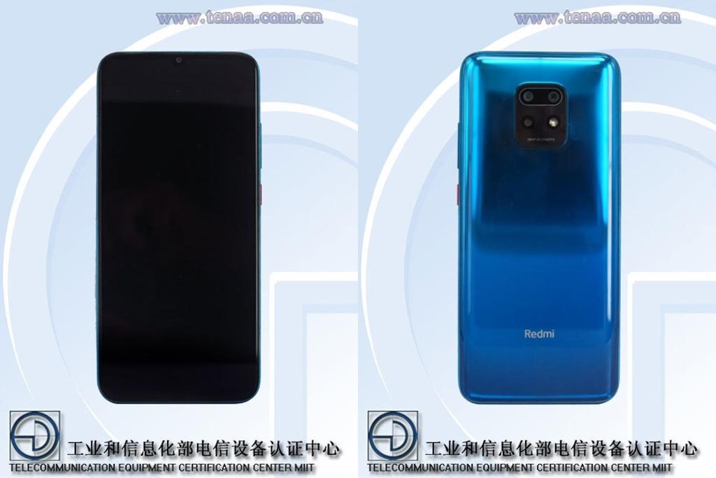 Xiaomi Redmi 10X TENAA