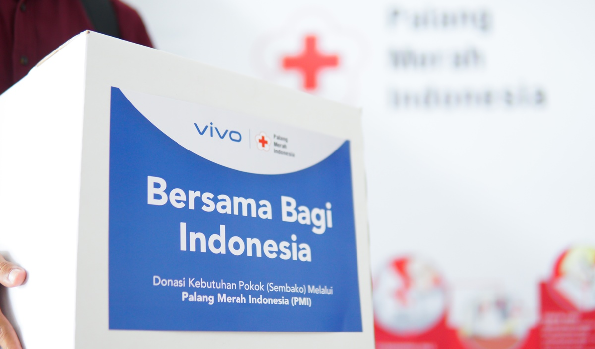 kolaborasi vivo & Palang Merah Indonesia