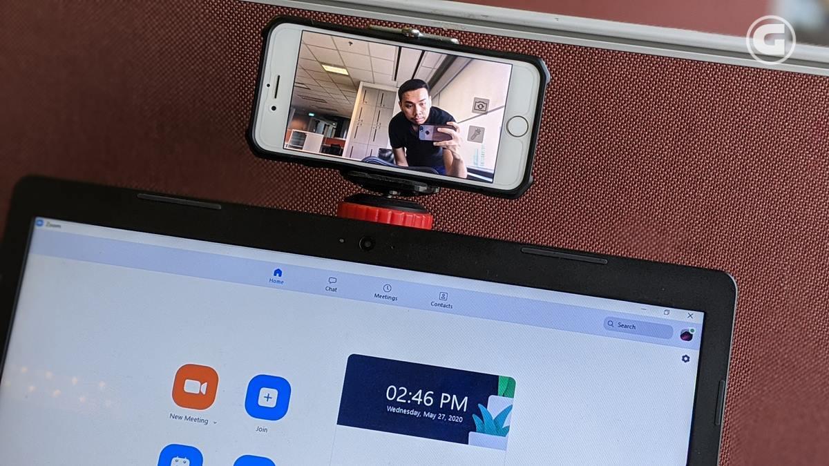 Cara Mudah Gunakan Kamera Smartphone Menjadi Pengganti Webcam Laptop Gizmologi