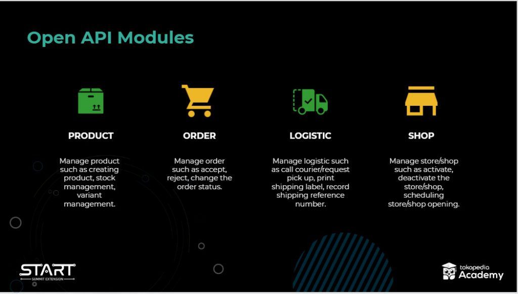 Tokopedia OPEN API START SUMMIT 2020