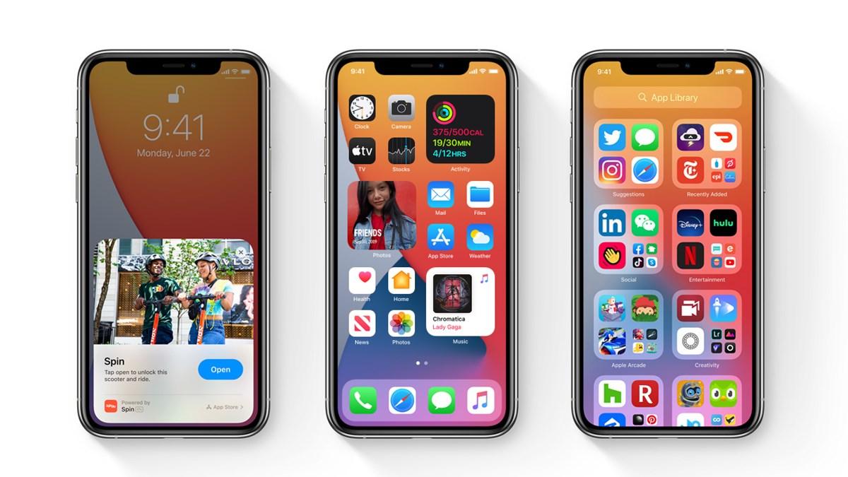 update iOS 14 Public Beta