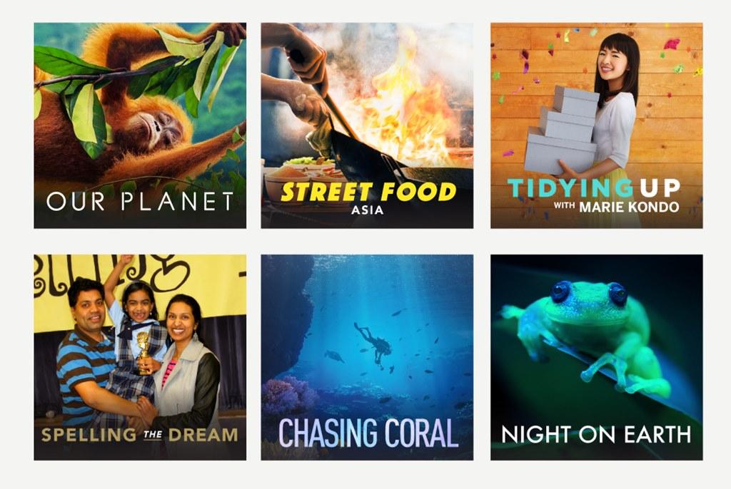 Tayangan dokumenter Netflix TVRI