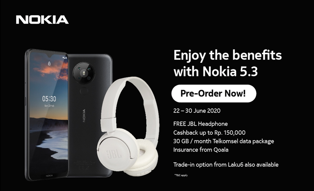 pre-order Nokia 5.3