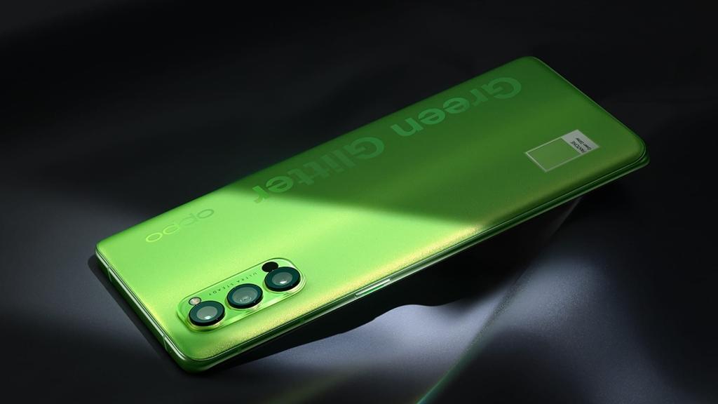 OPPO Reno4 Pro Glitter Green