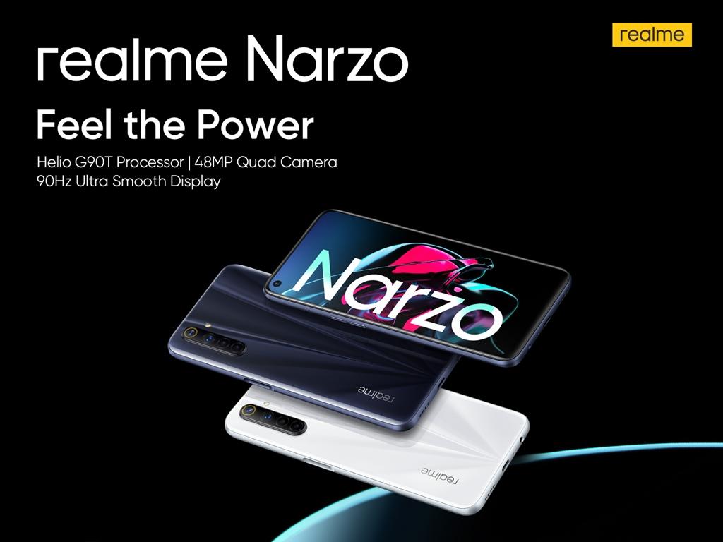 realme Narzo key specs