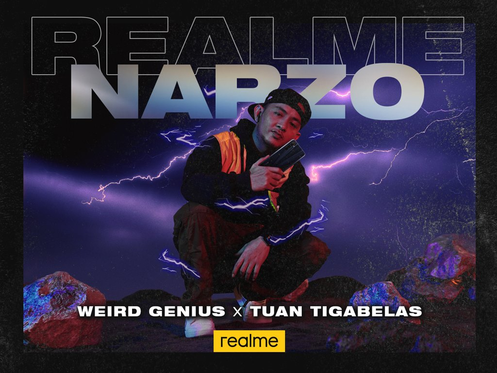 realme Narzo bersama Tuan Tigabelas & Weird Genius