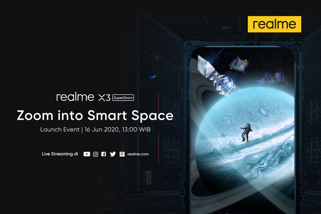 Jadwal Peluncuran realme X3 SuperZoom