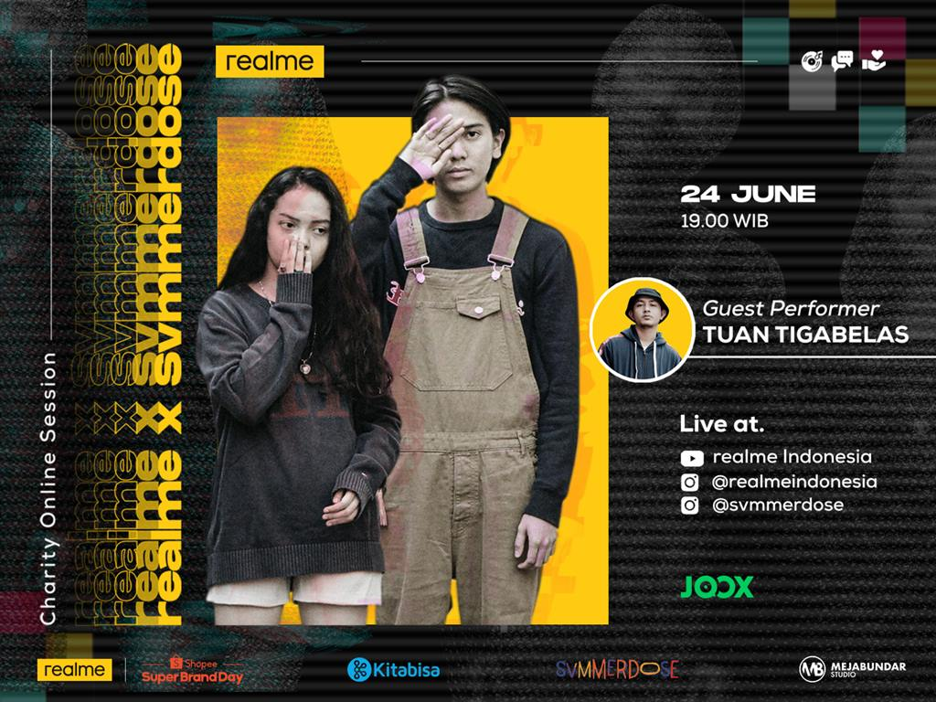 realme X Svmmerdose Charity Online Session