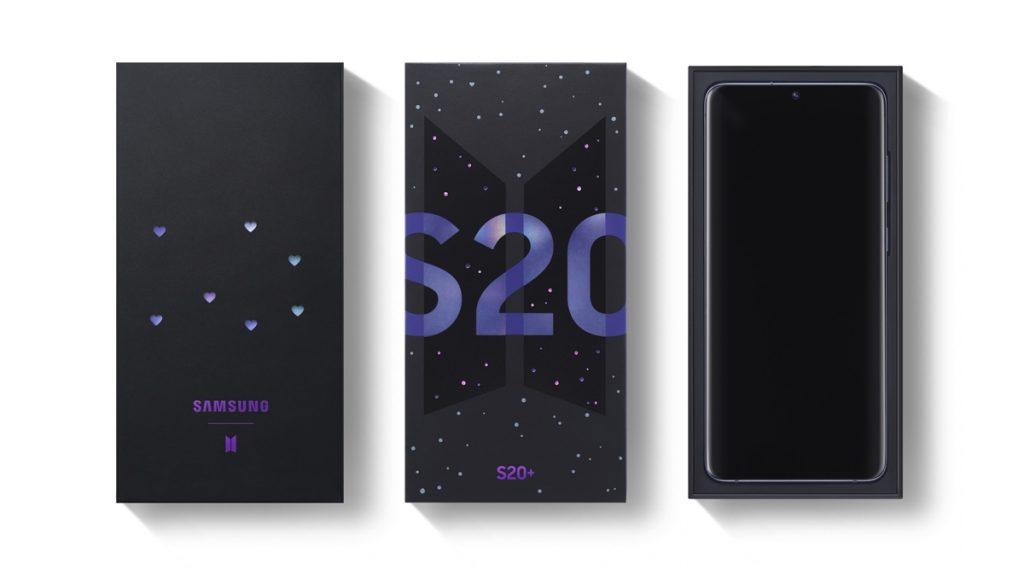 Samsung Galaxy S20 Plus BTS Edition