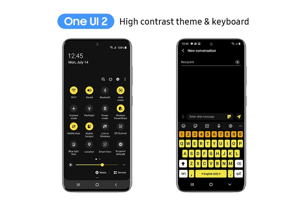 Aksesibilitas One UI 2
