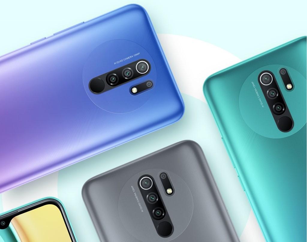 Tiga opsi warna Xiaomi Redmi 9