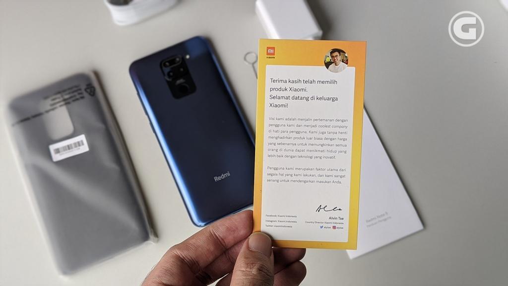 Kinerja Xiaomi Redmi Note 9