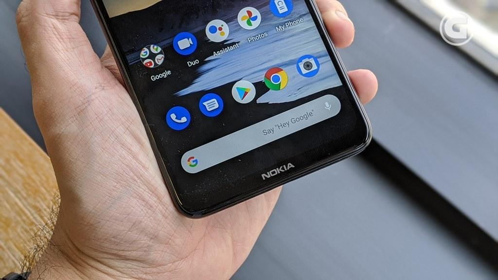 Bezel bawah Nokia 5.3