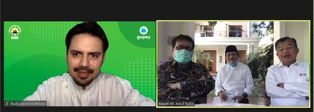 Kolaborasi GoPay dan DMI