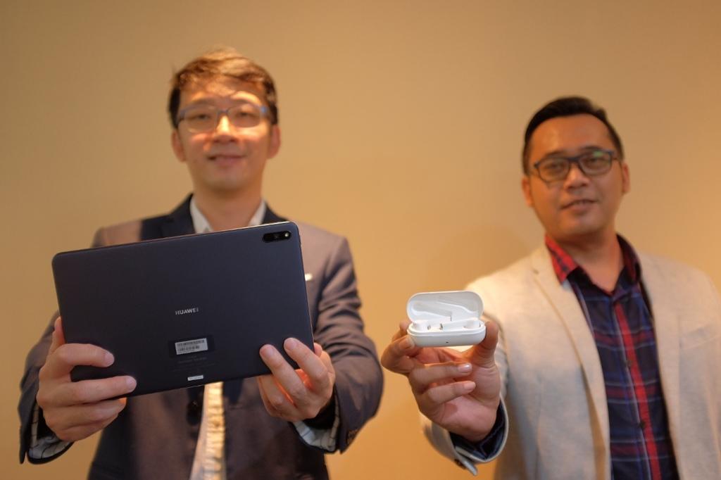 Huawei MatePad & FreeBuds 3i