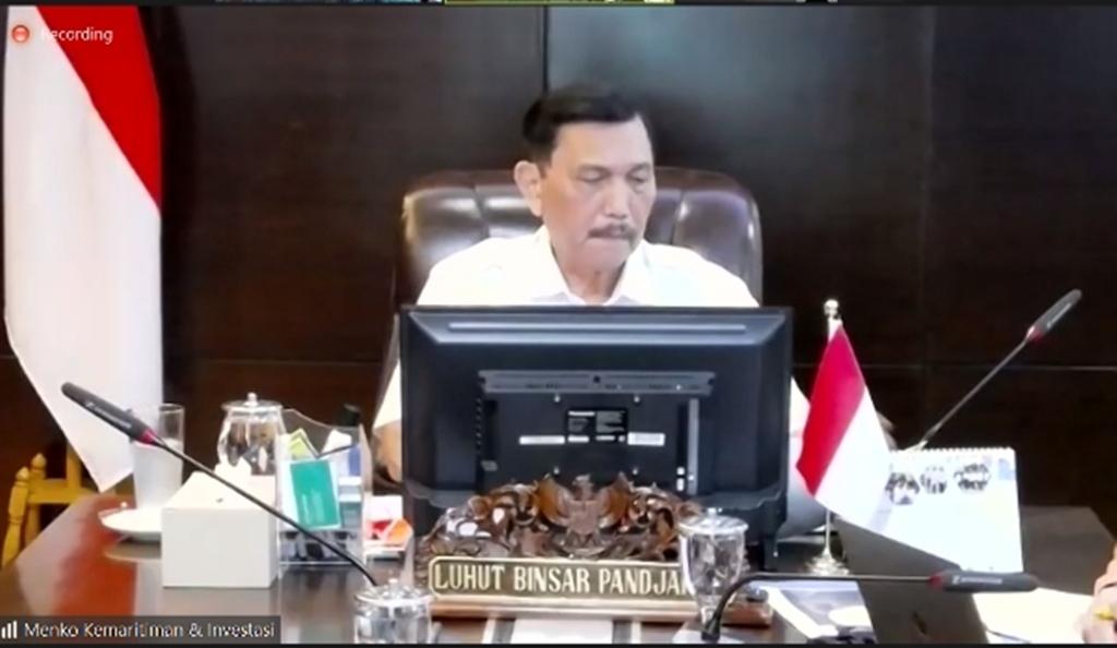 Menteri Koordinator Bidang Kemaritiman dan Investasi Republik Indonesia, Luhut Binsar Pandjaitan,