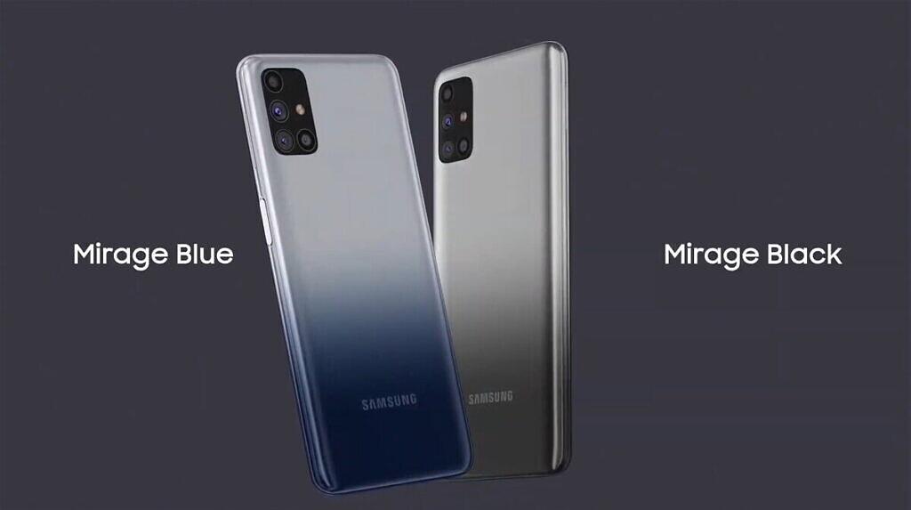 Warna Samsung Galaxy M31s