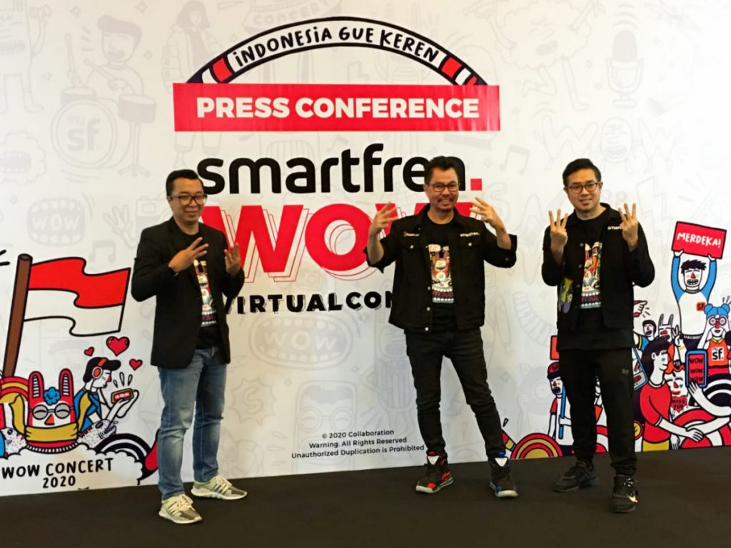 Smartfren WOW Virtual Concert 2020