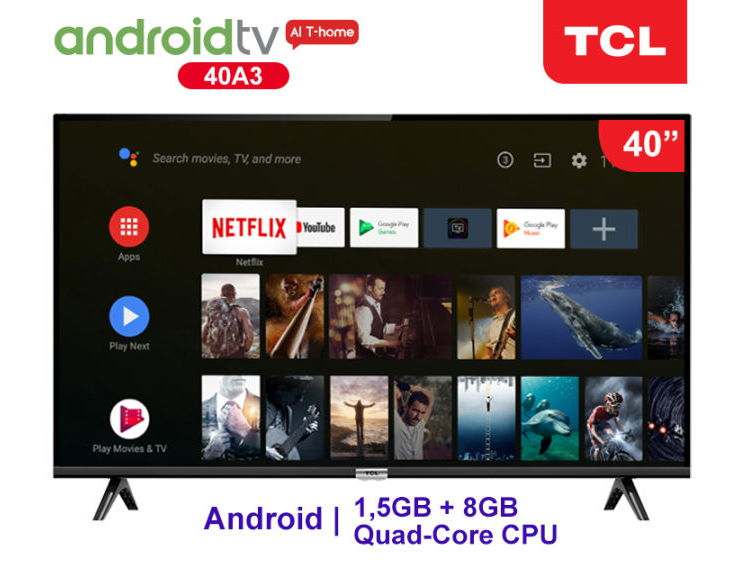 "TCL A3 40"" Android TV"