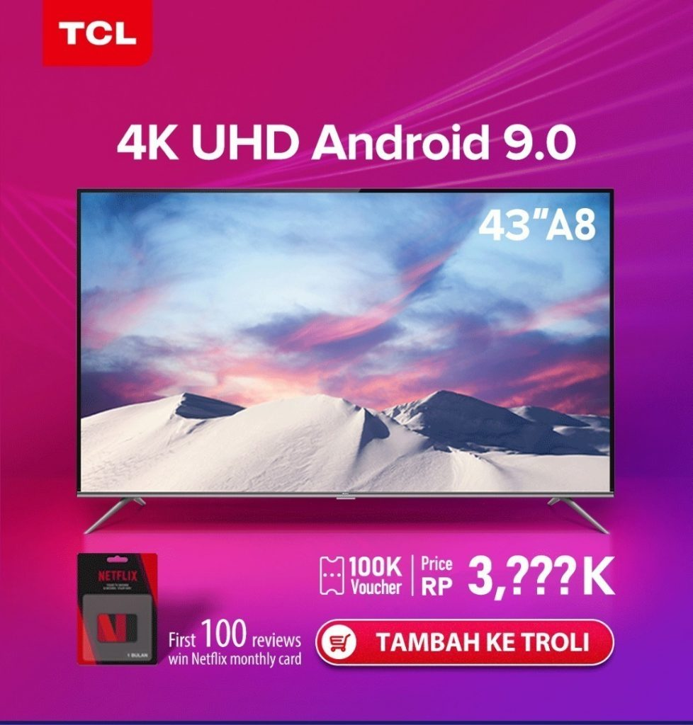 TCL 4K A8 Android