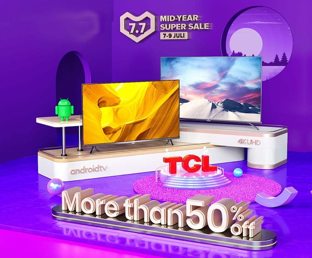 TCL Mid Year Super Sale Lazada