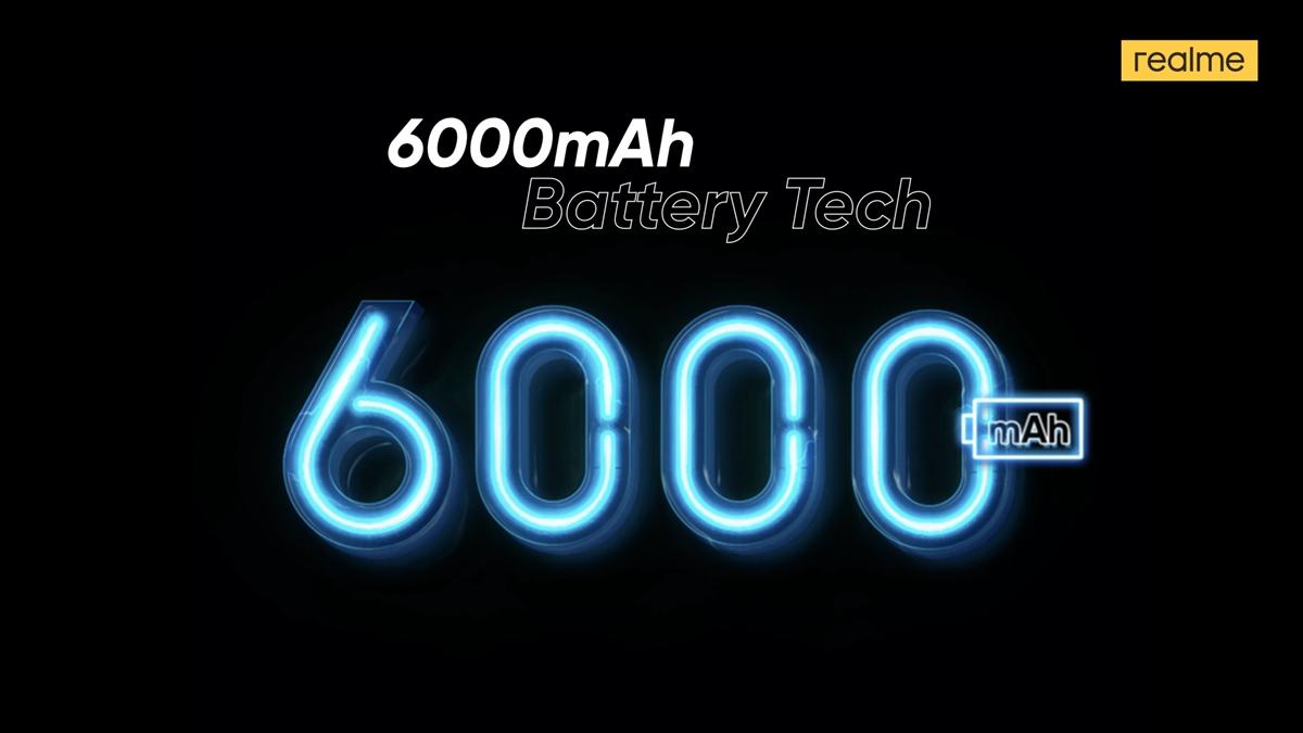 Baterai realme 6.000 mAh