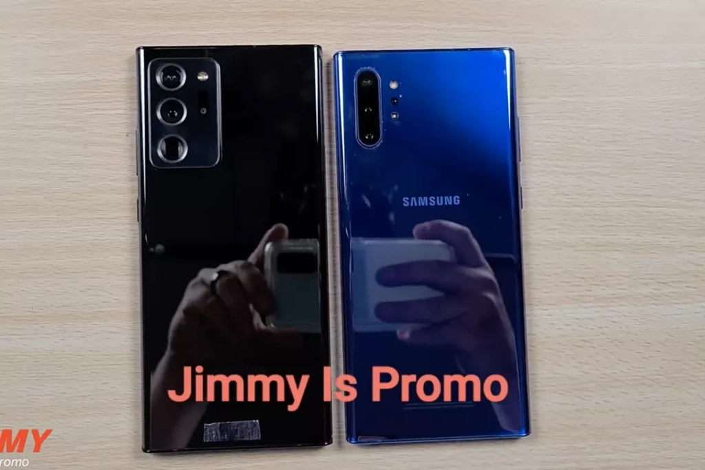 Samsung Galaxy Note 20 Ultra & Galaxy Note 10 Plus.