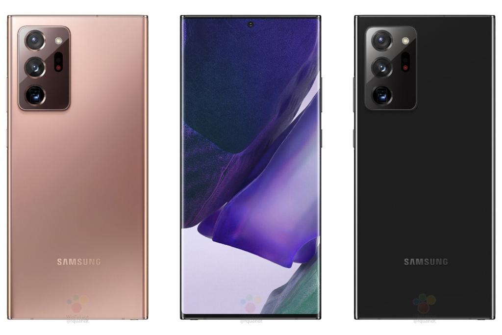 Warna Galaxy Note 20 Ultra