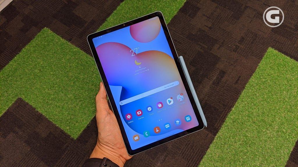 Layar Galaxy Tab S6 Lite