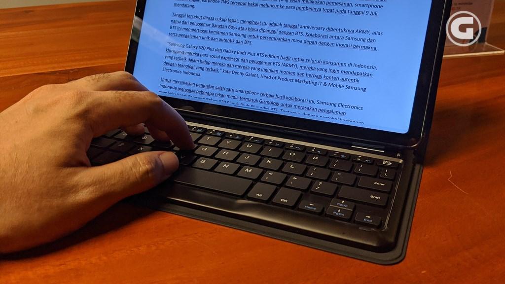 Keyboard book cover Galaxy Tab S6 Lite