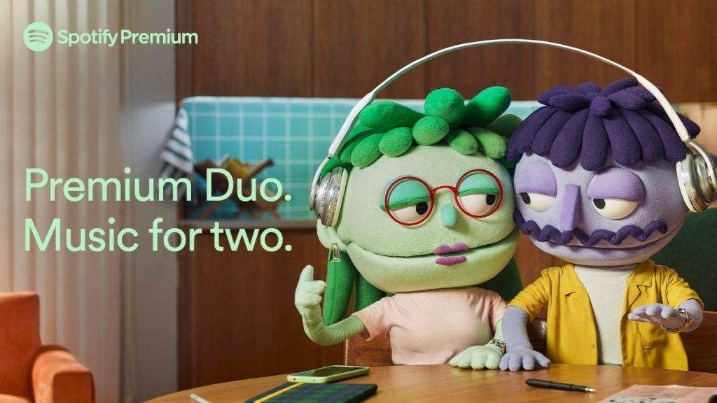 Spotify Premium Duo