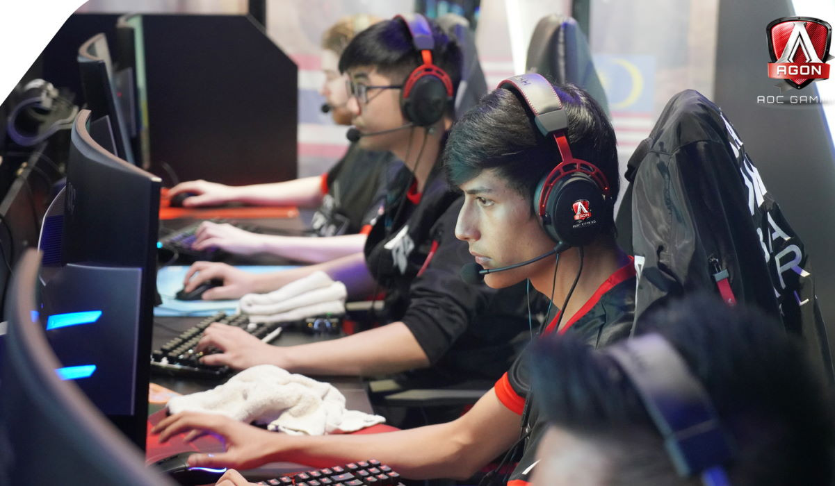 AOC Agon APAC Cybercafe Tournament 2019