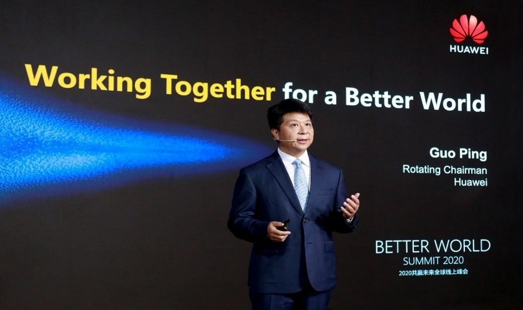 Guo Ping Huawei Better World Summit 2020