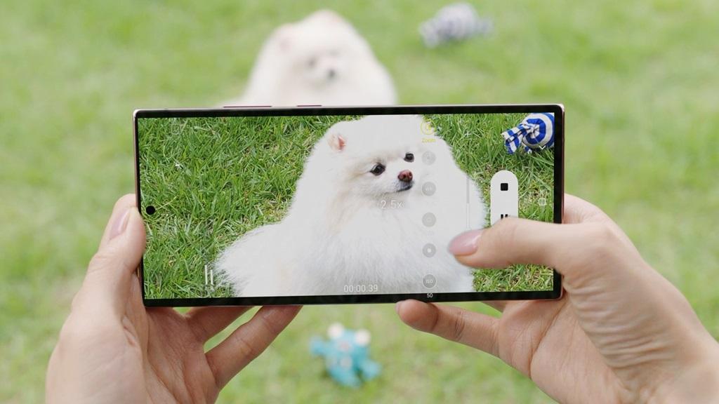Kamera Galaxy Note20