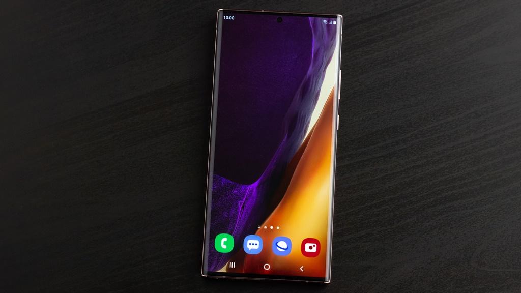 Layar Galaxy Note20