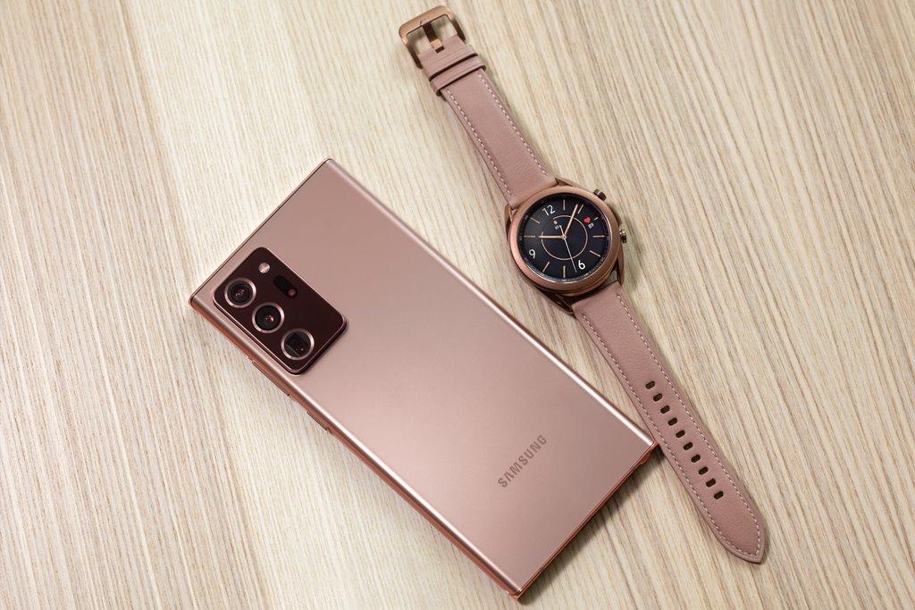 Samsung Galaxy Note20 Ultra & Galaxy Watch 3