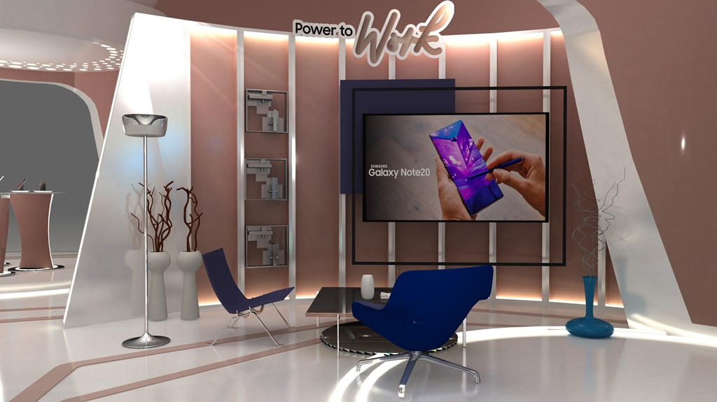 Galaxy Virtual Exhibition Power to Work