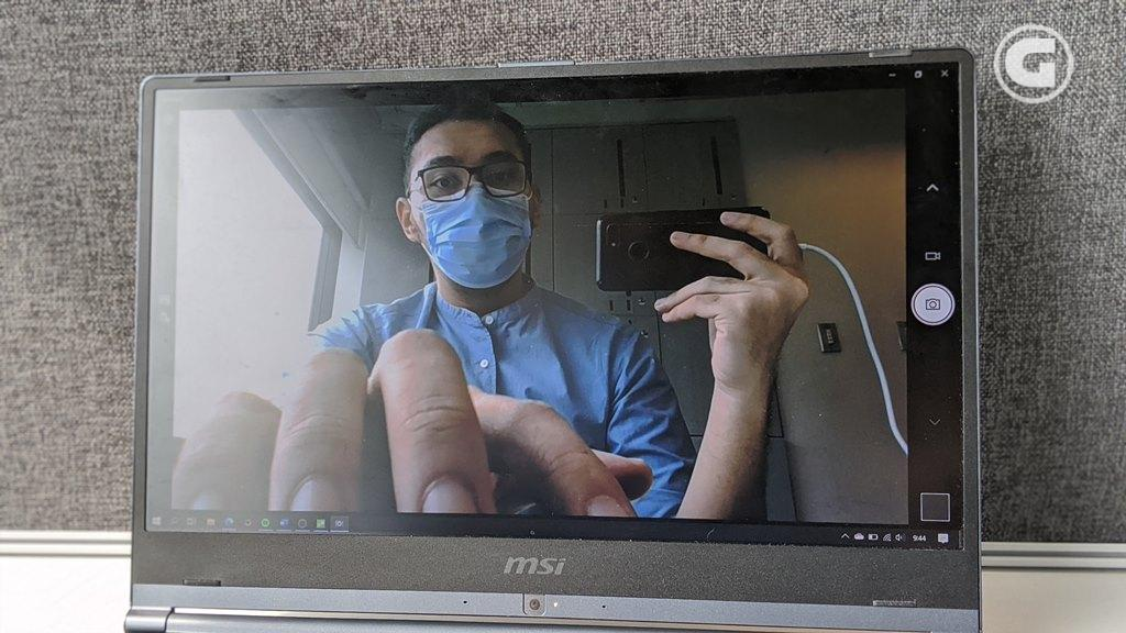 Webcam MSI Modern 14