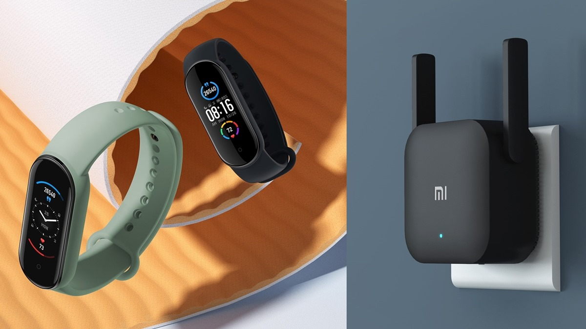 Mi Smart Band 5 - Mi Wi-Fi Range Extender Pro