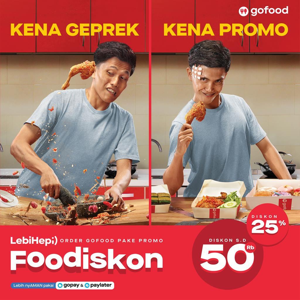 Program Foodiskon Gofood Beri Potongan Harga Sampai 50