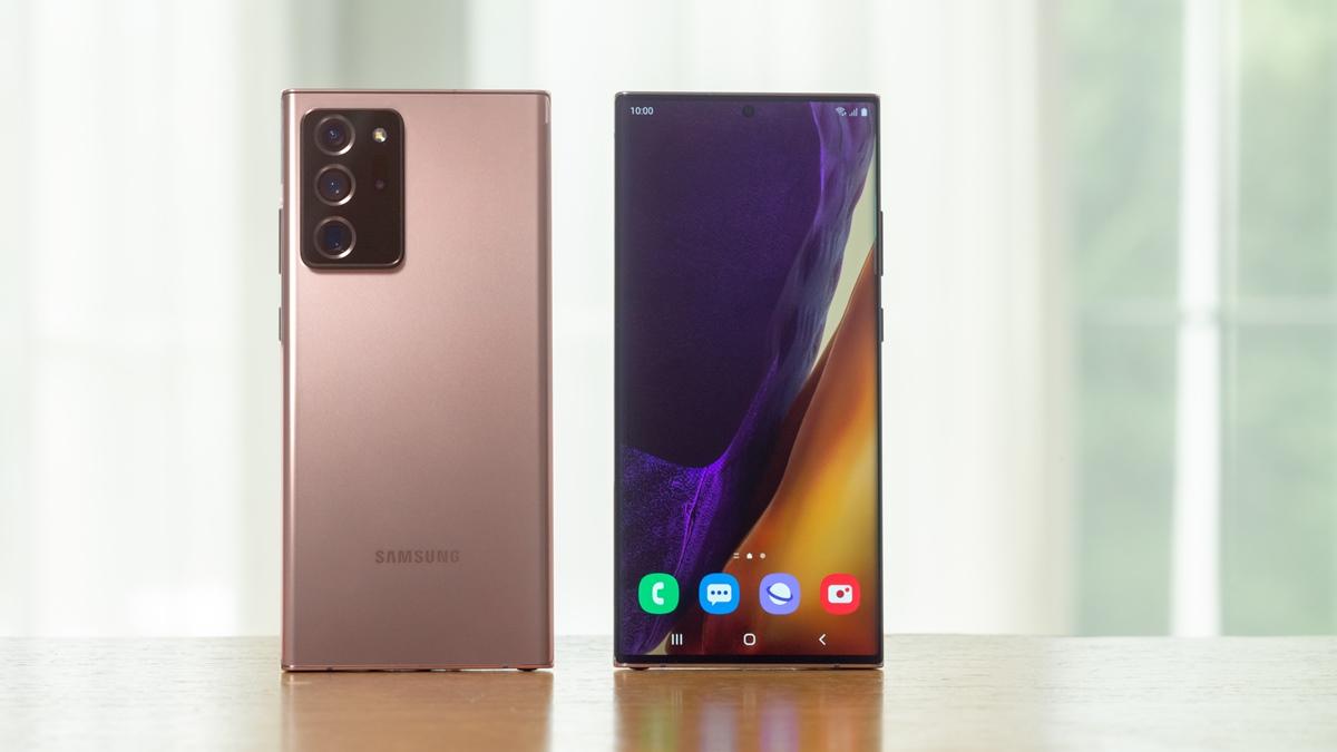 Desain Galaxy Note20 Ultra