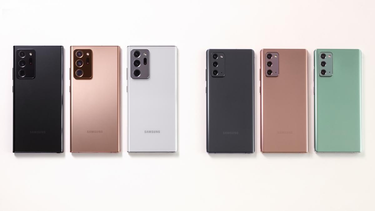 Varian warna Galaxy Note20 series
