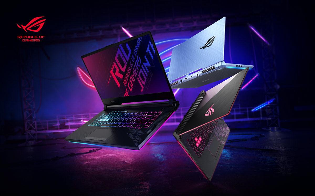 jajaran laptop gaming ASUS ROG terbaru 2020