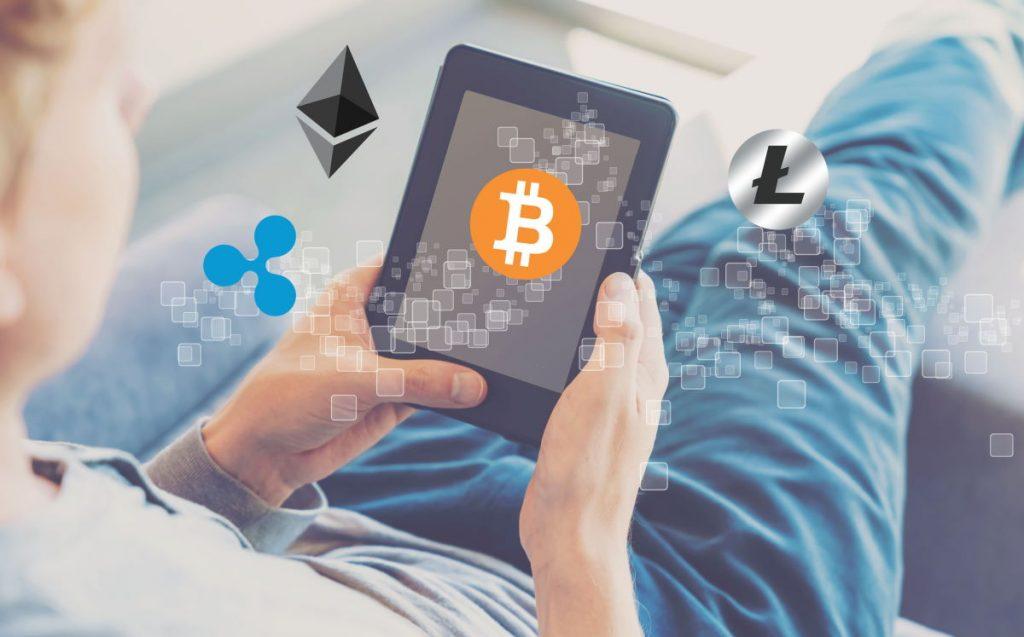 Ilustrasi bitcoin blockchain (Foto: 123rf/melpomen)